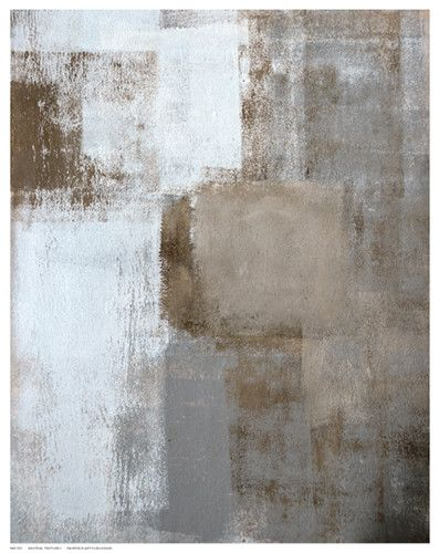 Paper: 14 ½ x 11 ½ Image: 14 x 11 Attractive abstract art print poster with shades of brown's, whites and grey's, interwoven masterfully to produce a wondrous composition.