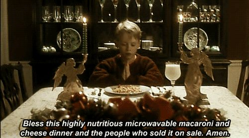 Pin for Later: 26 Home Alone Quotes You Have to Use This Christmas Eating Your Favorite Frozen Trader Joe's Lunch