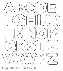 alfabeto per pannolenci