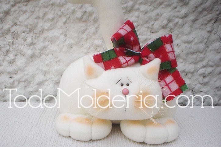 Molde-molderia-gato-navideño