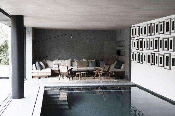 Vincent Van Duysen: A Luxuriously Comfortable Belgian Home via @mydomaine