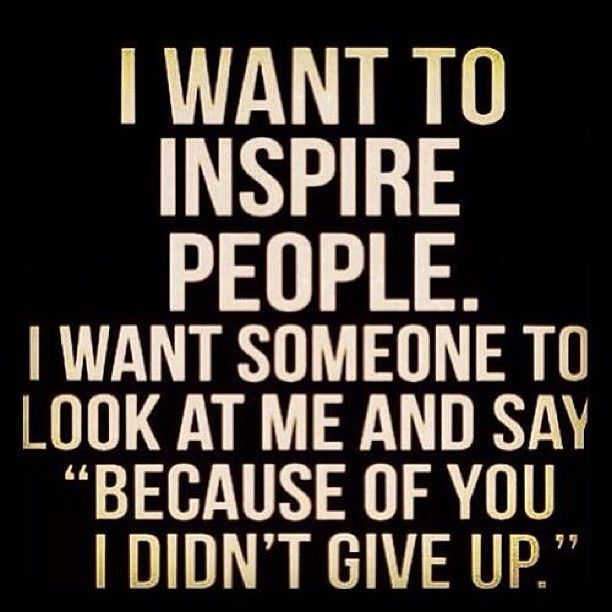 "We want to inspire you. We want you to look at us and say, ""Because of you, I didn't give up."" Don't give up. #theclotmustbefought #getaclueclotskillyou #bloodclots #pulmonaryembolism #embolism #deepveinthrombosis #inspire #quote"