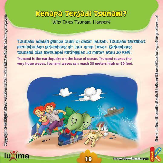 Bagaimana Proses Terjadinya Tsunami? | Ebook Anak