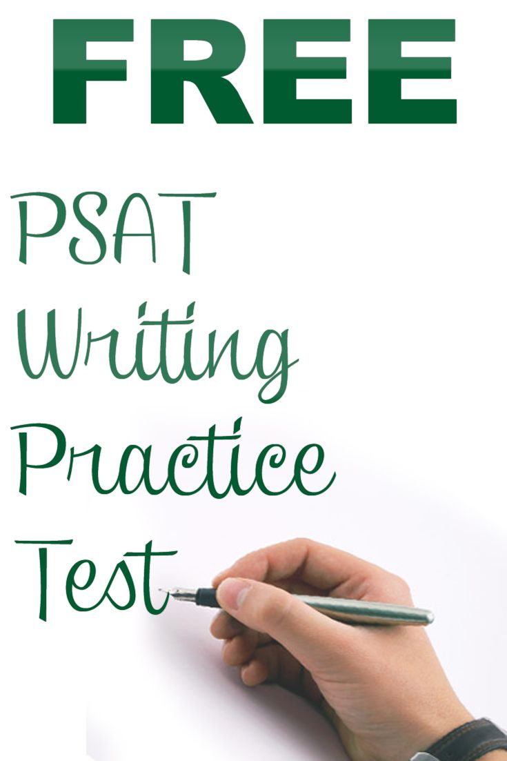 psat writing Prepare for the 2017 psat  writing and language test what to expect the writing and language test puts students in the active role of an editor.