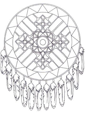 cherokee mandala coloring pages - photo#15