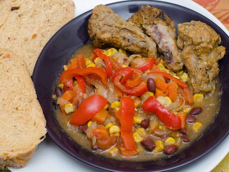 Рагу по-мексикански в вегитарианском варианте (без мяса)
