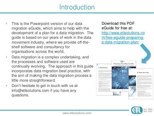 Preparing a data migration plan: A practical guide | Data