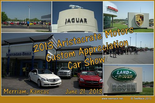Aristocrat Motors Customer Apprciation Car Show Banner Kansas - Car show banners