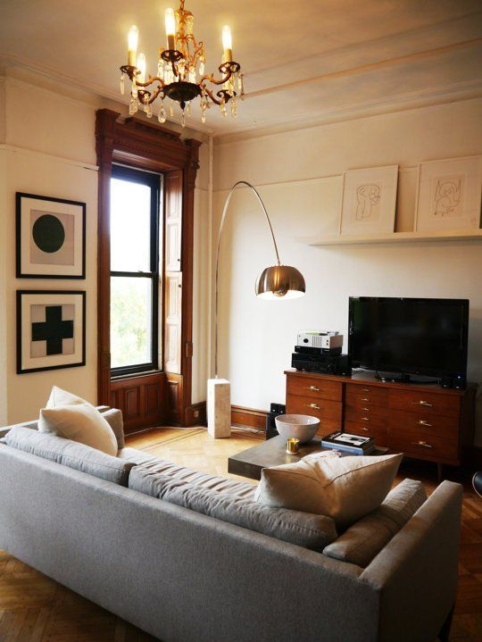 Kai And Dans Lovingly Restored Brownstone Flat House Tour
