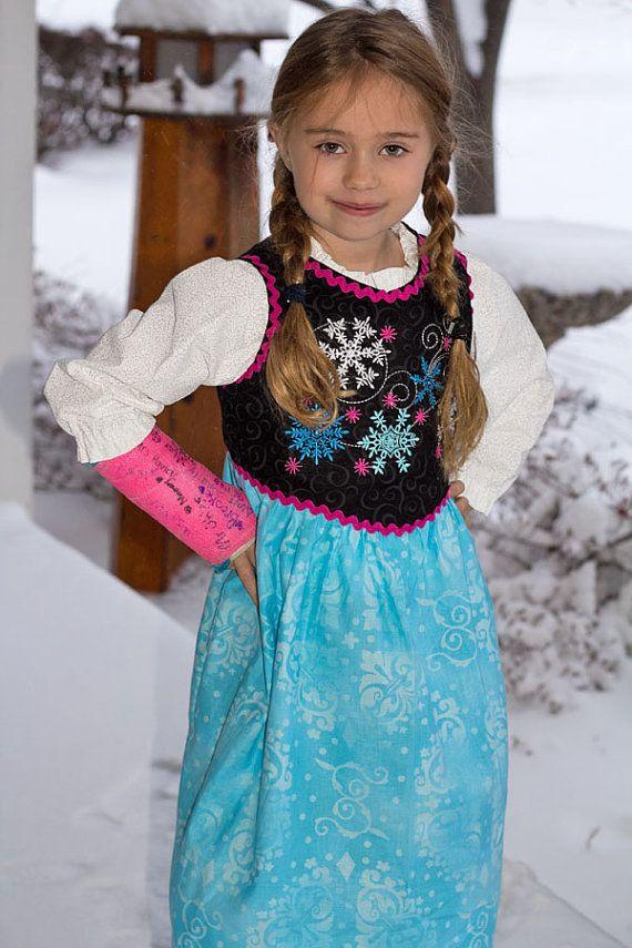 Anna Frozen dress Pattern