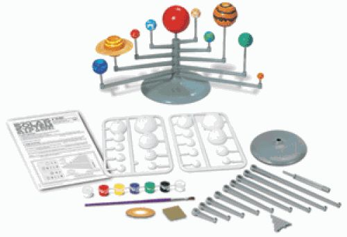 Paint the different planets and assemble to make a model of the solar system. Learn about the relationship between the planets and how they orbit around the sunt#toys2learn#science#kit#space#planets#solarsystem#thames&cosmos#learning#teaching#home#school#kids#childrens#pyramids#australia#