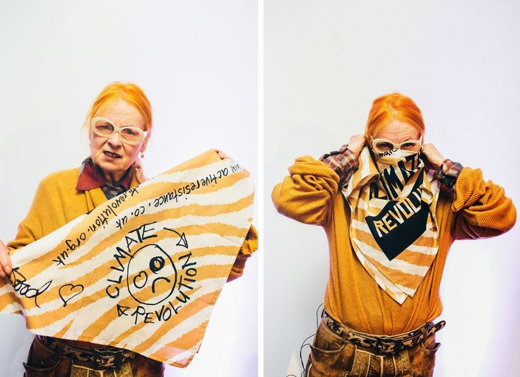 """VIVIENNE WESTWOOD ON BLOOMBERG: """"WE'RE SO DANGEROUSLY SHORT ON CULTURE."""""""