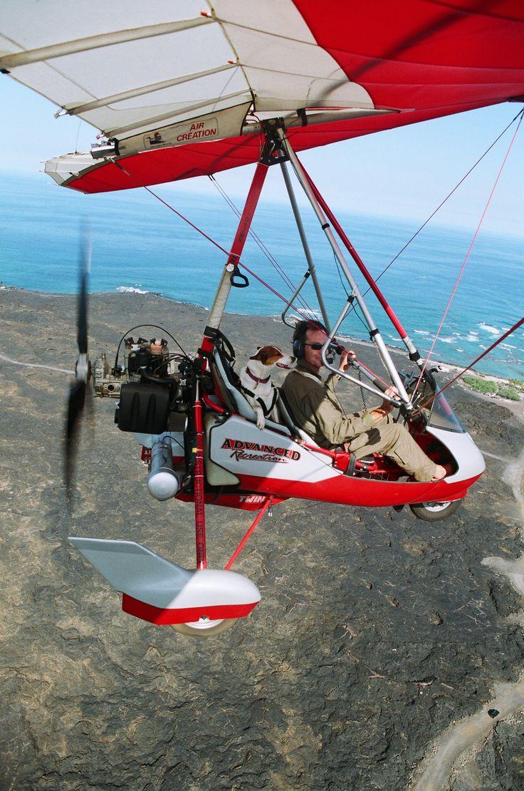 Light sport aircraft flight on the big island
