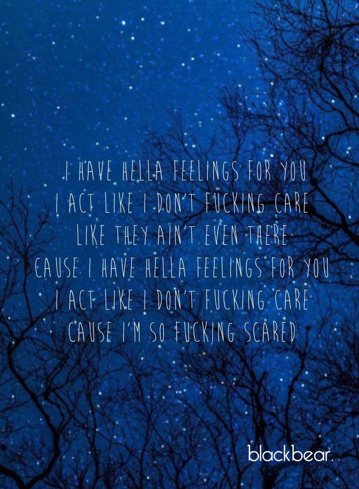 Idfc blackbear lyrics