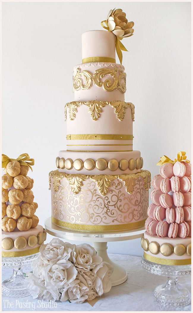 blush and gold wedding cake 736 best images about gold wedding on 12032