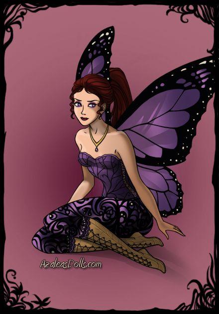 Meg Dark-Fairy-Azaleas-Dolls by InvisibleDorkette.deviantart.com on @deviantART