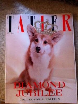 Diamond Jubilee Tatler: Corgis, Queen Diamonds, Queen Corgi, Jubil Corgi, Anglophilia, Corgi Channel, British Royals, Corgi Ville, Diamonds Jubilee Corgi