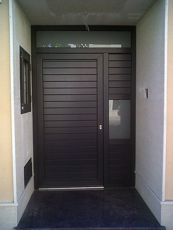 27 best images about serralheria on pinterest entrance for Modelos de puertas de metal modernas
