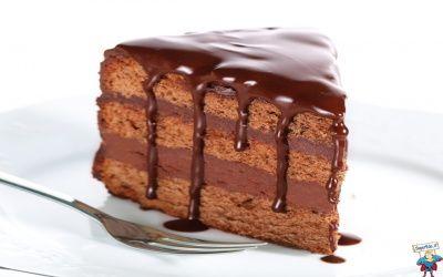 fetta di torta cioccolato extra
