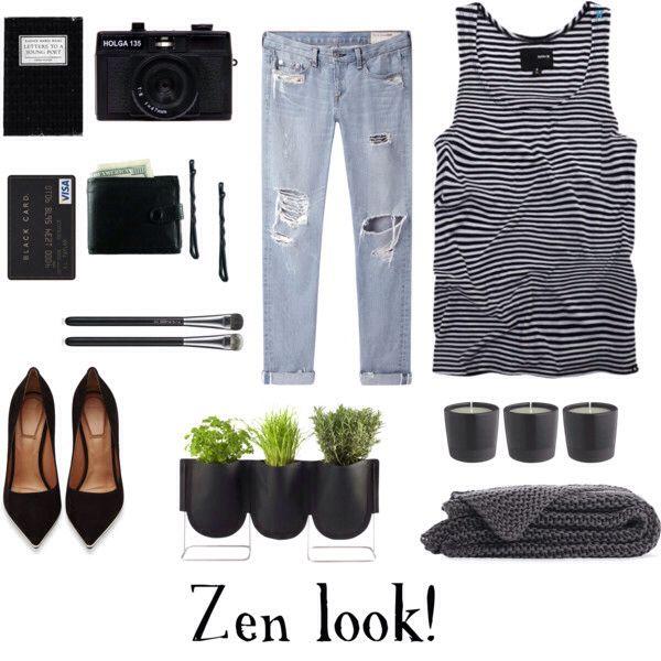 Zen look!