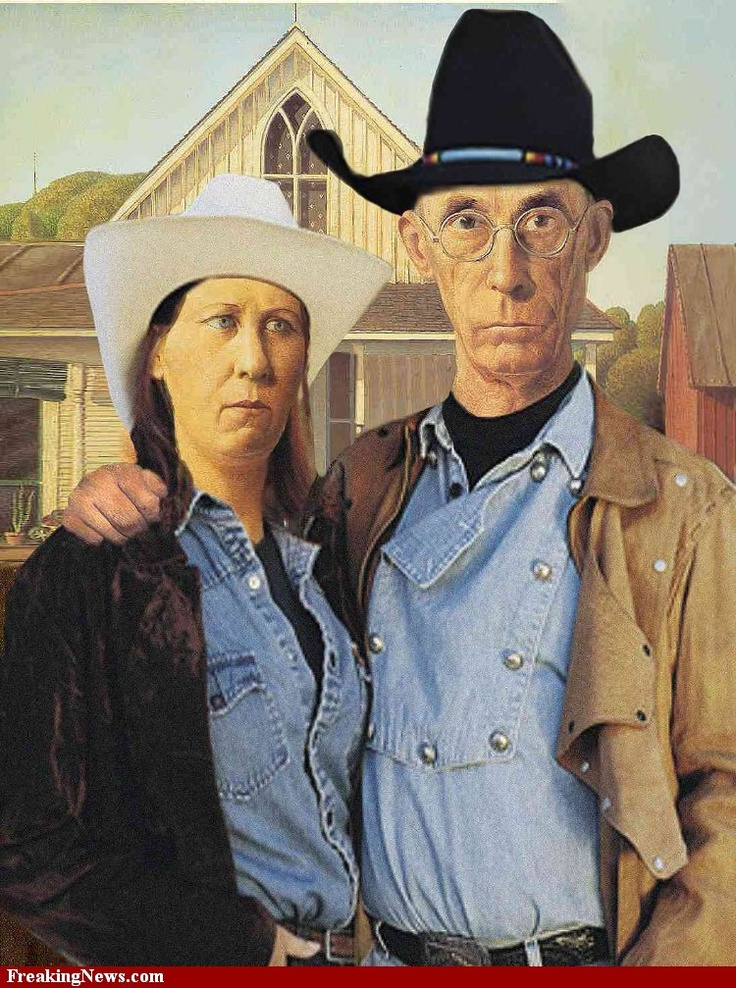 opinion on american gothic painting American gothic is unquestionably wood's masterpiece and ranks among the finest portrait paintings of its day like the mona lisa , it remains an enigmatic composition, but one which has become an icon of american art of the 20th century as well as one of the greatest paintings of midwest americana.