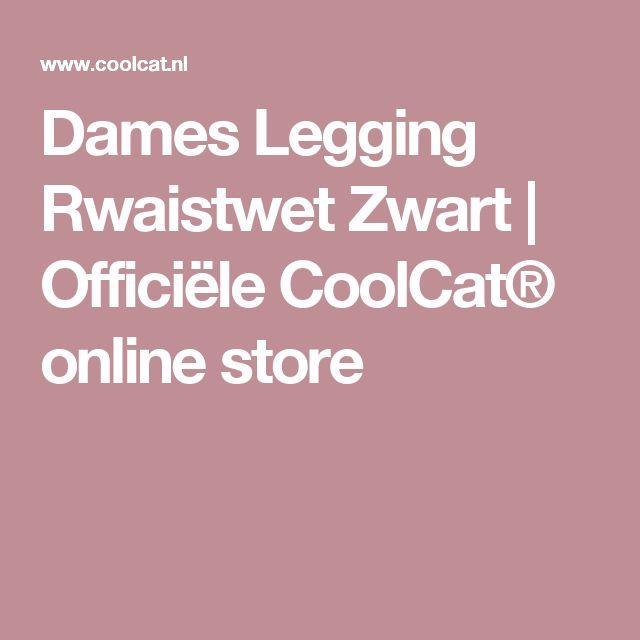 Dames Legging Rwaistwet Zwart | Officiële CoolCat® online store