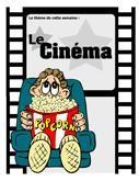 Le cinéma, activités pour enfants