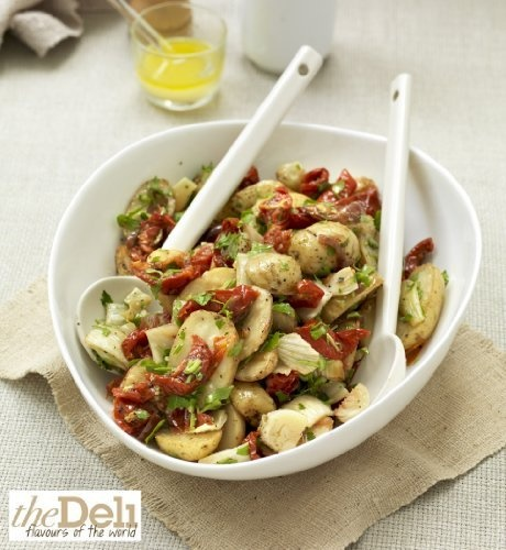 ... , slow roast tomatoes, dressed with a lemon and garlic vinaigrette