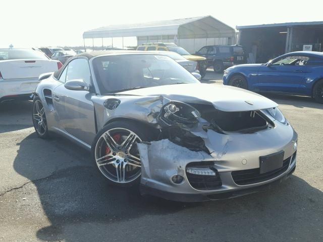 Salvage 2008 Porsche 911 Turbo