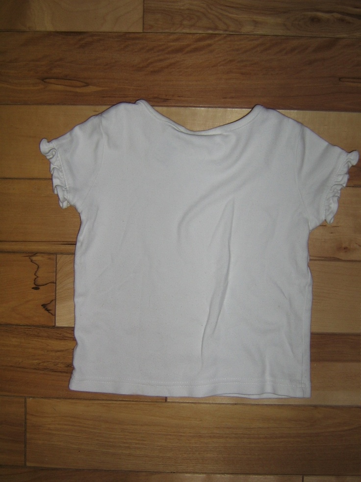 Gymboree Girls Valentine and Poppies All White Short Sleeve 6 EUC (from the January '03 Line)   $4.00