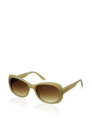 Thierry Mugler Women's TR2005 Sunglasses, Beige
