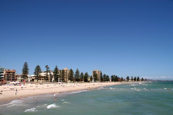 #Australia, Glenelg, #Adelaide beach