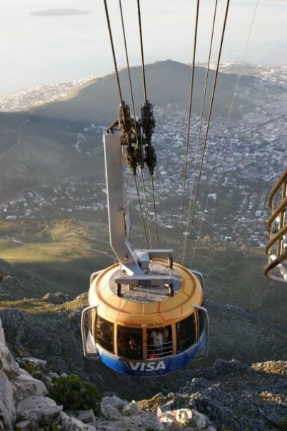 Table Mountain Aerial Cableway - I finally made it up there!