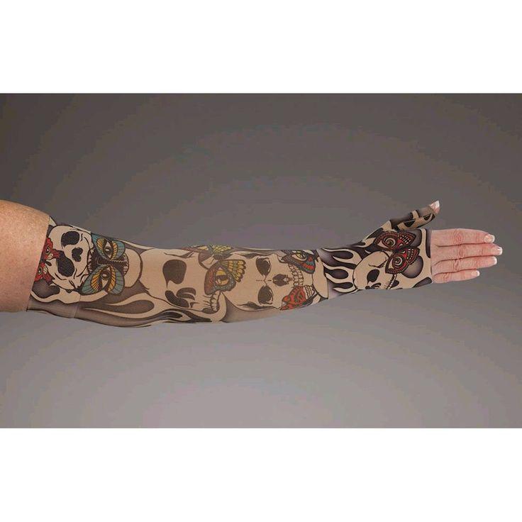 Misfit Compression Sleeve » £75.00 - LympheDIVAS Style MisfitS - Compression Arm Sleeves from Pebble UK