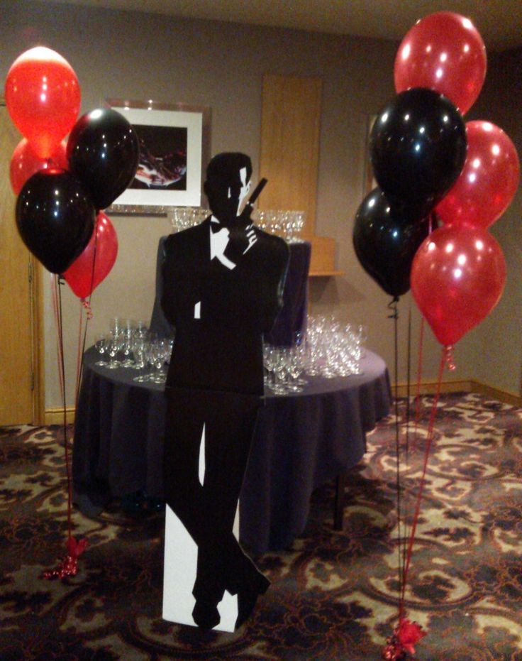 1000 ideas about james bond party on pinterest james for 007 table decorations