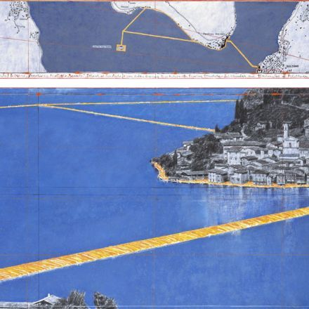 """""""The Floating Piers"""" by Christo & Jeanne-Claude"""