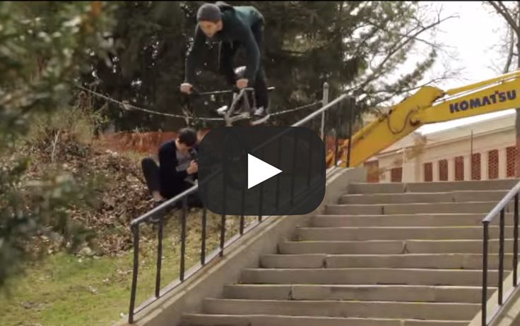 Mikey Babbel outdid himself this summer for Hoffman Bikes in this nothing but street BMX Video! Re-pin if you love BMX!