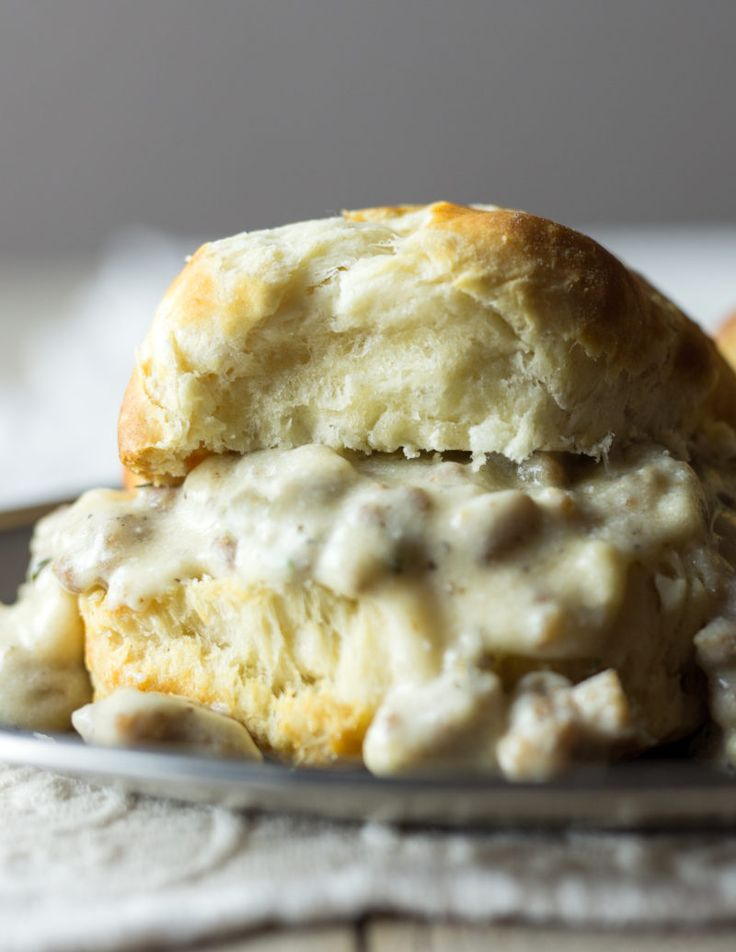 Father's Day Paleo Biscuits and Gravy Savor Culinary Services