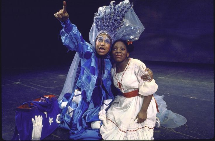 Clarice Taylor And Stephanie Mills The Wiz Black Theatre