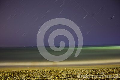 Sea And Night Sky - Download From Over 30 Million High Quality Stock Photos, Images, Vectors. Sign up for FREE today. Image: 44645826
