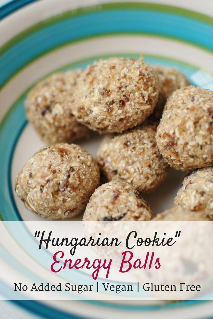 White apron menu oshawa - Hungarian Cookie Energy Balls