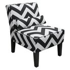 Cute, inexpensive (wait for a sale) chevron print chair from Target.  Great accent chair for office or bedroom.
