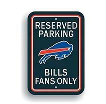NFL Buffalo Bills Parking Sign