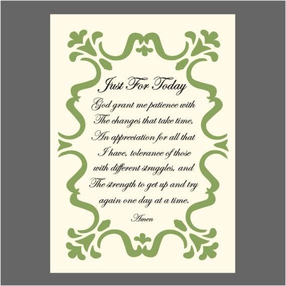 Just For Today prayer More tips on Widowed Life @widsnextdoor.com