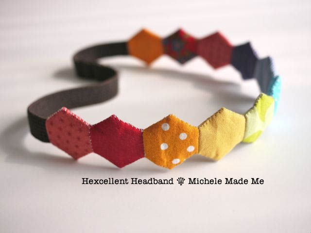 micaela me Hizo: Tutorial: Diadema Hexcellent
