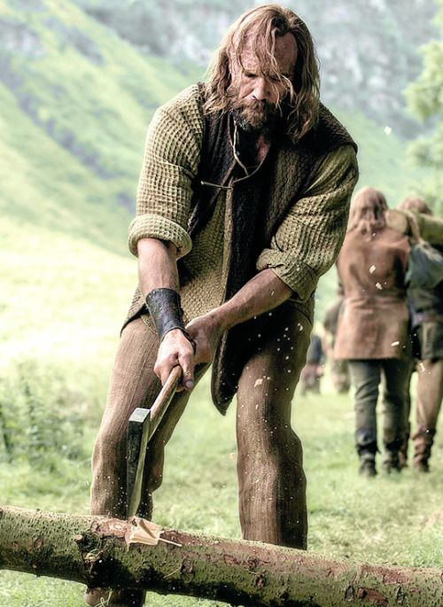 "Sandor Clegane in Game of Thrones 6.07 ""The Broken Man"" ♞"