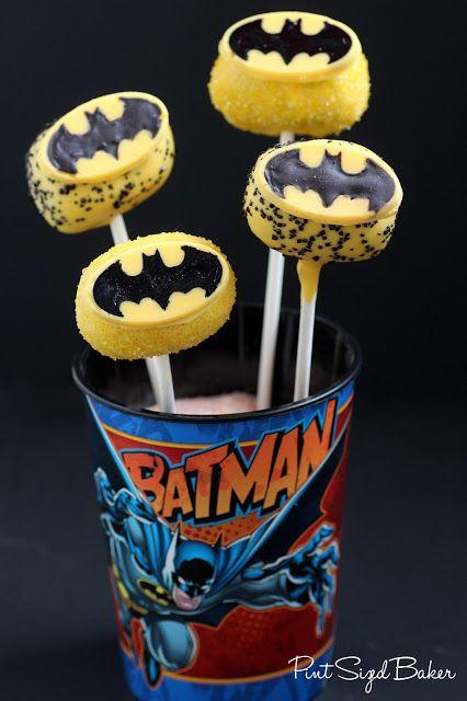 Pint Sized Baker: Super-Hero Cake Pops #Batman