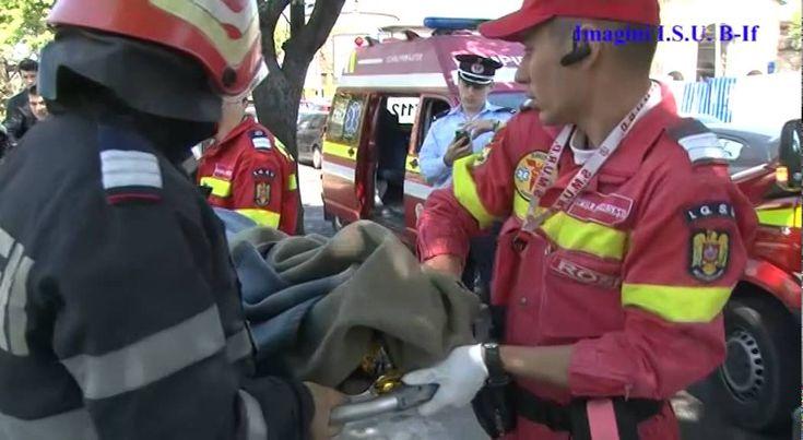 24.04.2015 - ISU B-IF: salvare persoana din raul Dambovita