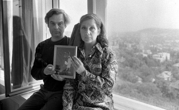 Keleti Éva: Latinovits Zoltán és Ruttkai Éva otthonukban, 1971