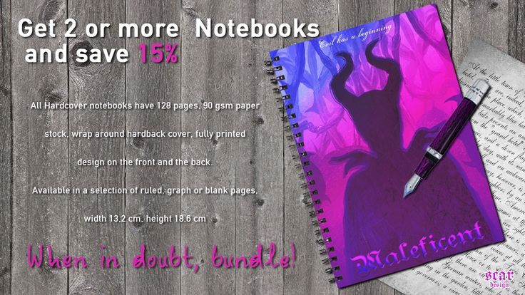 Get 2 or more Mugs or Notebooks and save 15%!  #redbubble #notebooks #discount #sales #save #buynotebook #diary #movienotebook #cinemanotebook #coolnotebook #maleficent #giftsforher #giftsforgirls #girlygifts #littlegirls #schoolgirlsnotebook #school #schoolnotebooks #buyschoolnotebooks
